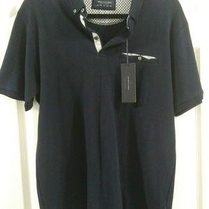 Casual 3 button short sleeve shirt